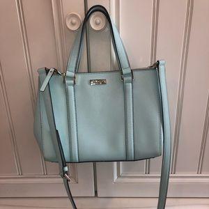 Kate Spade light blue handbag